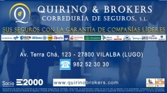 Quirino & brokers - datos contacto domicilio social de quirino & brokers, s.l. corred. de seguros