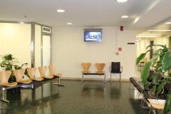 Cartelería digital (digital signage) en sala de espera de Policlínica Gipuzkoa