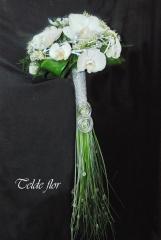 Diseños personalizados de ramos de novia telde flor