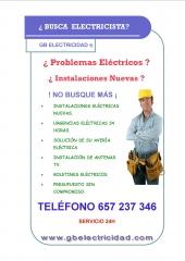 Servicios elécticos en tenerife gb electricidad 657 237 346