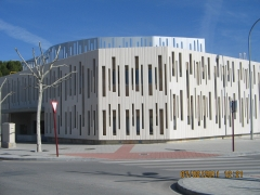 Pabellon universidad de albacete