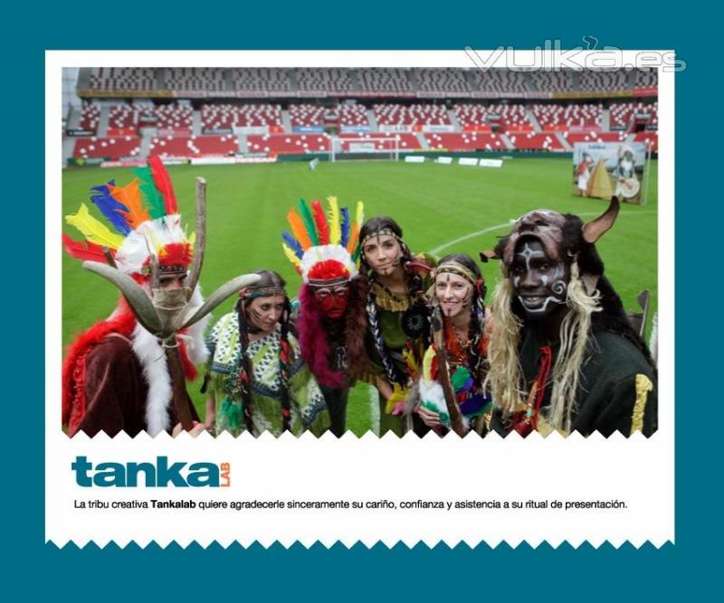 acto de presentación de Tankalab, sociedad de imagen participada por Llana consultores