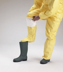 Buzo tychem� c integral cha6 con calcetines amarillo