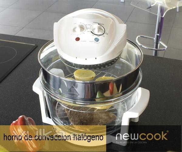 Horno de conveccion newcook recetas