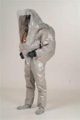Escafandra ventilada gasguard� t2 integral 1 (con calzas con cubre bota y guantes anillados de neopr