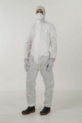 Buzo propguard� con capucha blanco