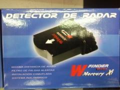 Detector , avisador de radares  , ( no inhibidor )