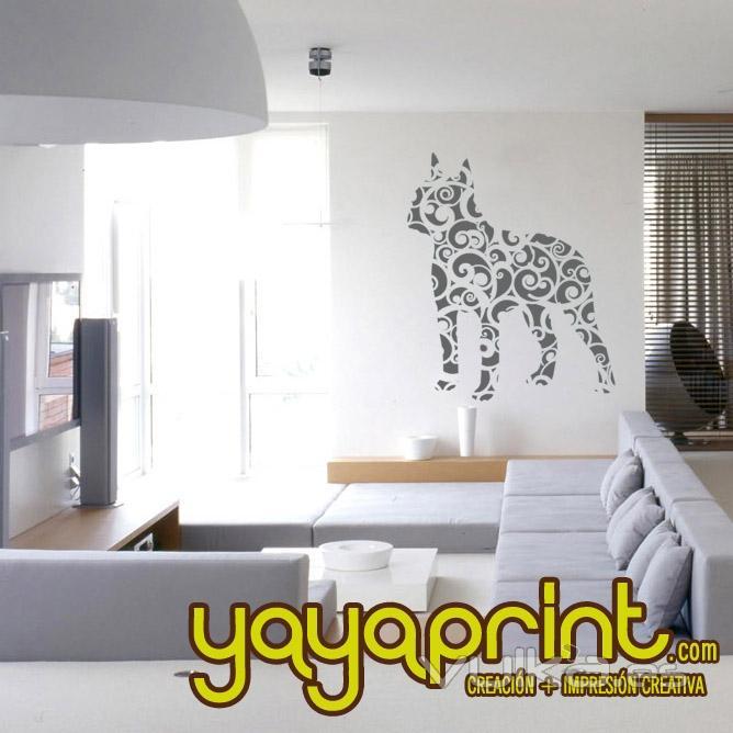 Vinilos infantiles vinilo decorativo for Vinilos para dormitorios modernos