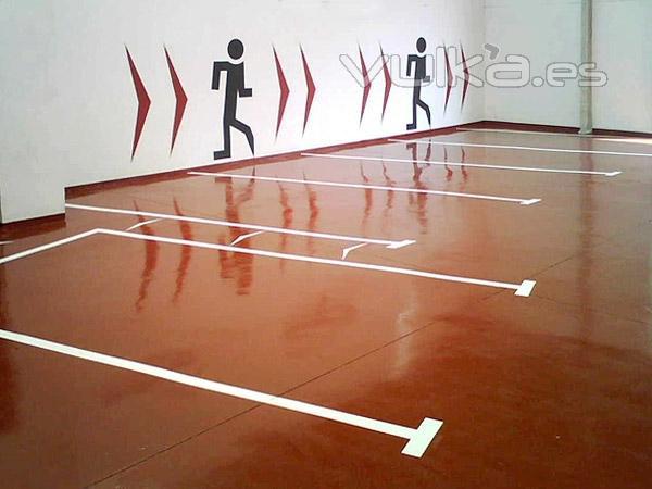 Dscolor s l pavimentos de resina epoxi y poliuretano - Pinturas para garajes ...