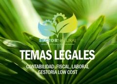 Servicios de asesor�a y gesti�n legal, contable, laboral, etc. low cost!