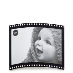 Portafotos film negro oval para fotos 10x15 horizontales en lallimona.com