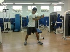 Mihai, un jugador de tenis camino de conseguir el sue�o de ser  profesional.