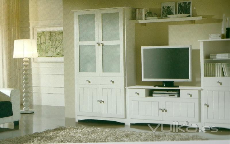 Muebles maria for Muebles rusticos blancos