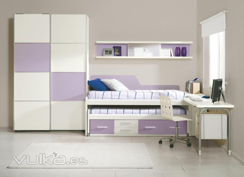 Foto dormitorios juveniles combinables a tu gusto - Fotos dormitorios juveniles ...
