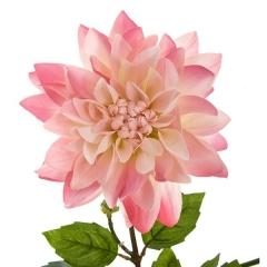 Flores artificiales. rama con dalias artificiales rosas 85 en lallimona.com (detalle 2)
