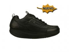 Skechers shape ups work-zapatos cómodos hombre-76848 B