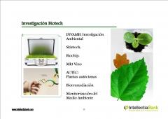 INVESTIGACION BIOTECH EN INTELLECTIA BANK