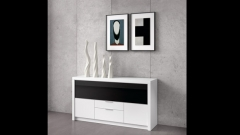 Buffet aparador en blanco de catalogo de muebles de salon eli