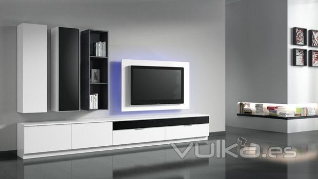 Foto: Muebles del catalogo Eli en color blanco
