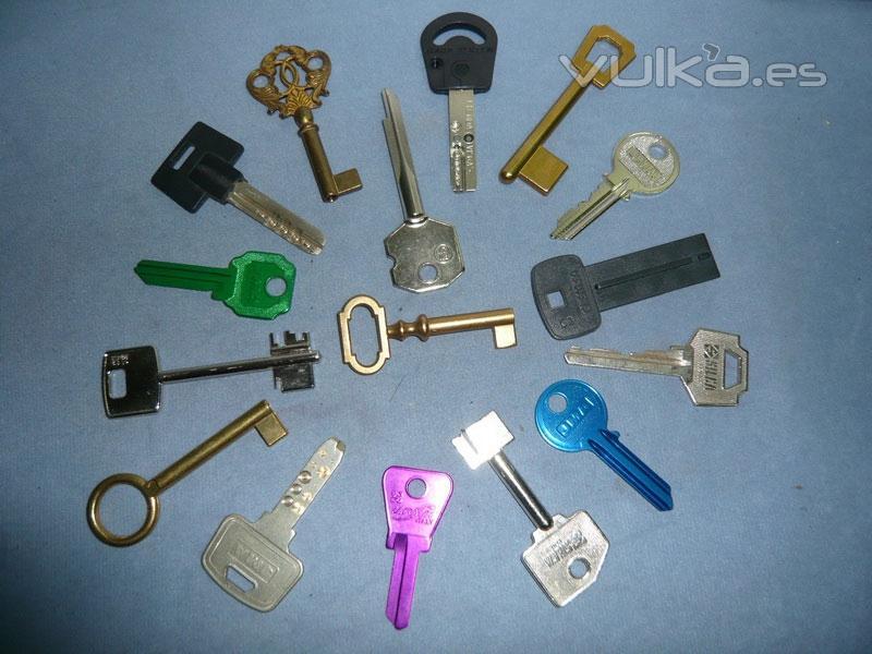 Cerrajeros albacete 669 454 664 for Tipos de llaves de puertas