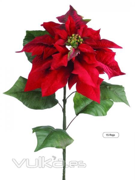 Foto flores navidad artificiales poinsetia artificial de - Imagenes flores de navidad ...