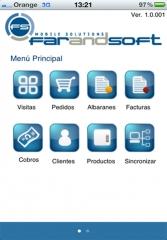 Gesti�n comercial preventa y autoventa para iphone  - gesti�n comercial ordersce