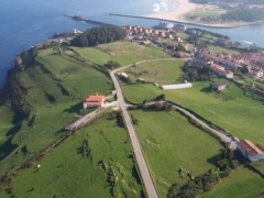 Vista aerea de la zona del hotel Noray