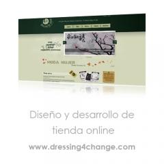 Dise�o y desarrollo web para una tienda online de moda solidaria.