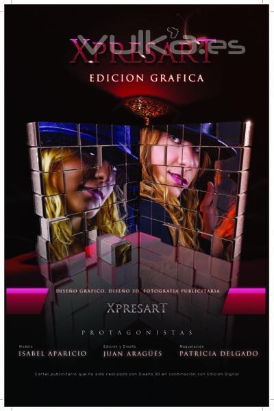 Diseño 3D Zaragoza. Cartel de Película