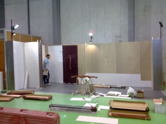 Preparacion de stan. feria agromaq salamanca 2011
