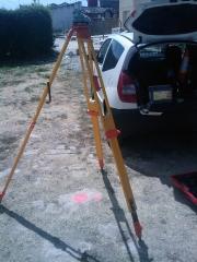 Trabajos de replanteo en edificación