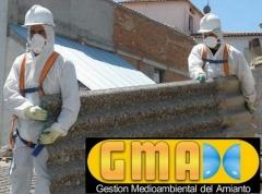 Residuos de amianto gmadc, retirada de uralita en almeria, desmontaje de fibrocemento - foto 14