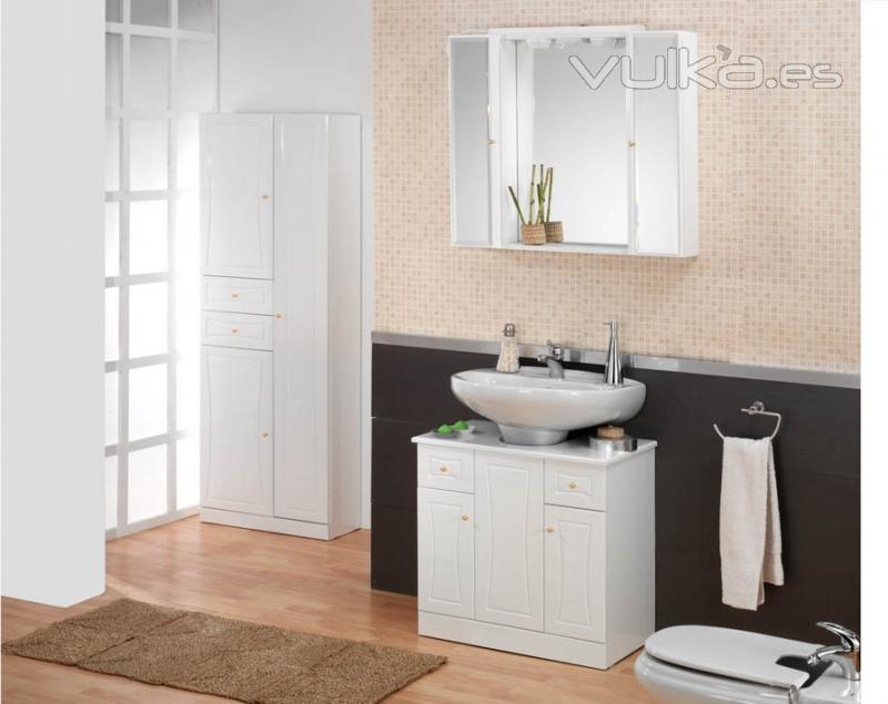 Foto mueble bajo lavabo sin quitar su lavabo medidas 70x66 - Muebles de bano para lavabo con pie ...
