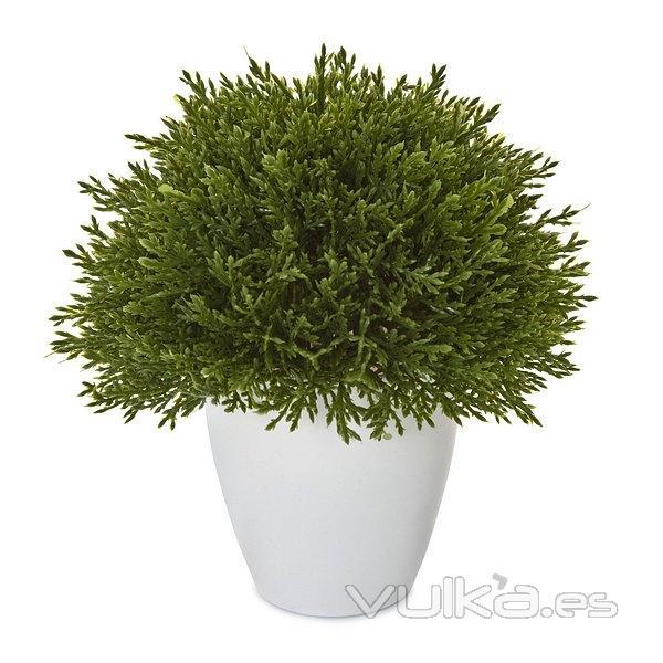 Foto plantas artificiales planta artificial bola cedar for Plantas ornamentales artificiales