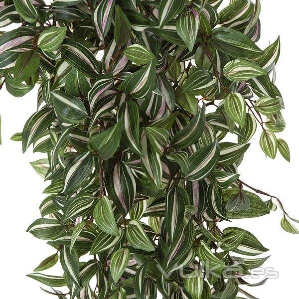 Foto plantas colgantes artificiales planta artificial for Plantas crasas interior