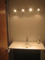 Mueble baño con lavabo encimera