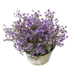 Plantas artificiales con flores. planta artificial flor nebulosa mini malva 15 en lallimona.com (2)