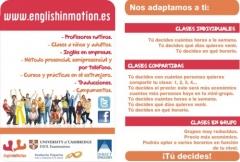 �Sean cu�les sean sus necesidades, English in Motion tiene un curso para usted!