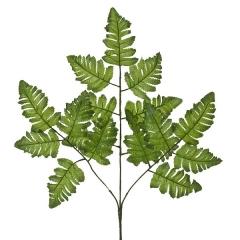 Plantas artificiales. rama artificial hojas helecho verde claro en lallimona.com