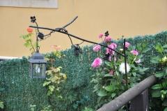 Colgador de forja. urb. comillas (santander)