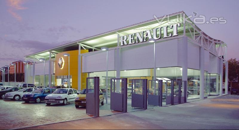 Renault retail group s a madrid av burgos 93 for La maquinista parking