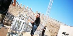 Montaje de estructuras para espectáculo a medida
