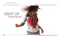 Diseño web stellata tshirts - marbella