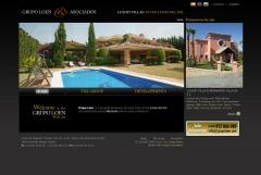 Diseño web grupo loen - marbella