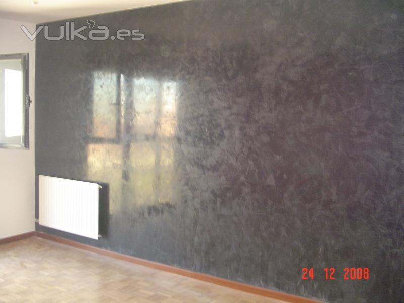 Pintura y decoraci n zurdo for Papel pintado para salon blanco