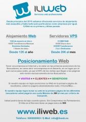 Alojamiento web - servidores vps - posicionamiento web