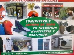 Suministro de ropa laboral y material de seguridad.  tratamiento de ozonizacion