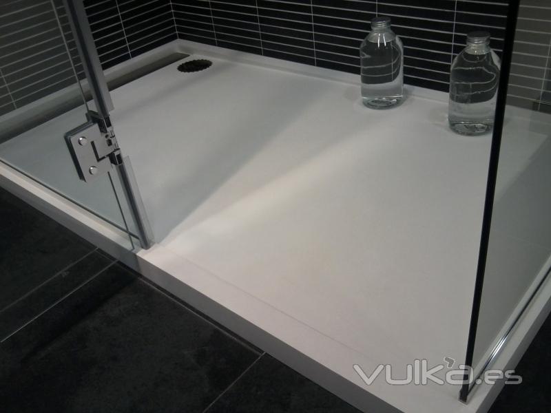 Encimeras Baño Krion:platos de ducha a medida en Krion de Porcelanosa