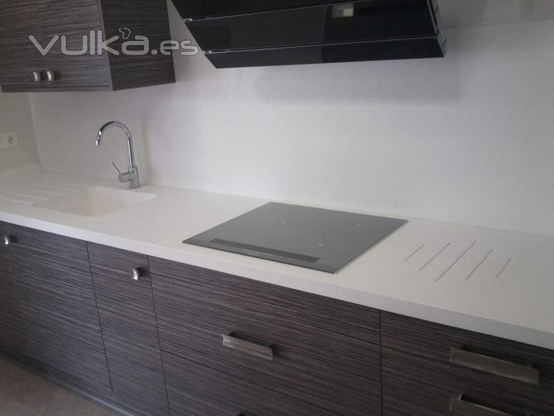 Encimeras Baño Krion:encimera de cocina en Krion de Porcelanosa