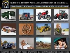 Quirino & brokers - seguros más populares relacionados con la circulación de vehículos.